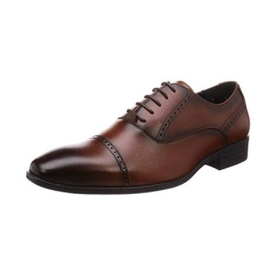 (マリオ・ロゼッティ)ビジネスシューズ 紳士靴 軽量 防滑 抗菌仕様 メンズ 3810 (ブラウン 25.5 cm 3E)