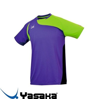 ◆◆●送料無料 メール便発送 <ヤサカ> Yasaka クラルスユニフォーム Y-241 (33:パープル) 卓球 ウェア ゲームシャツ Y241
