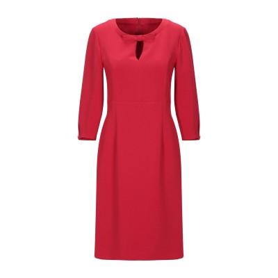 EMISPHERE ミニワンピース&ドレス レッド 40 ポリエステル 63% / レーヨン 32% / ポリウレタン 5% ミニワンピース&ドレス