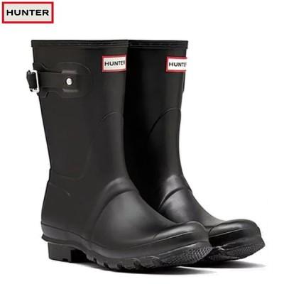 HUNTER ハンター オリジナル ショート ブーツ レディース レイン ブーツ  ORIGINAL SHORT BOOTS WFS1000RMA