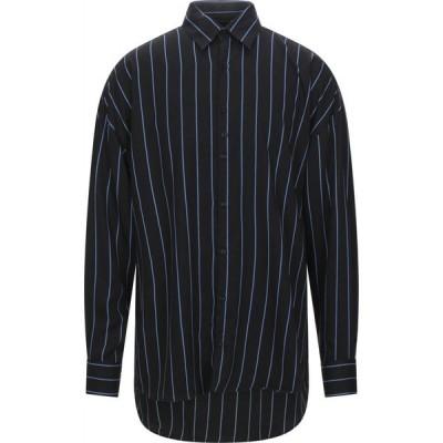 コストメイン COSTUMEIN メンズ シャツ トップス striped shirt Black