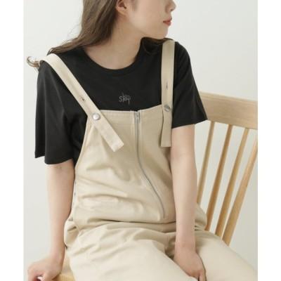 レイカズン Ray Cassin GLS skipちびカラーロゴTシャツ (スミクロ)
