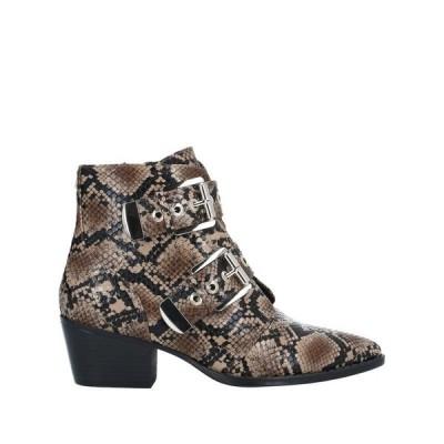 MTNG ショートブーツ ファッション  レディースファッション  レディースシューズ  ブーツ  その他ブーツ カーキ