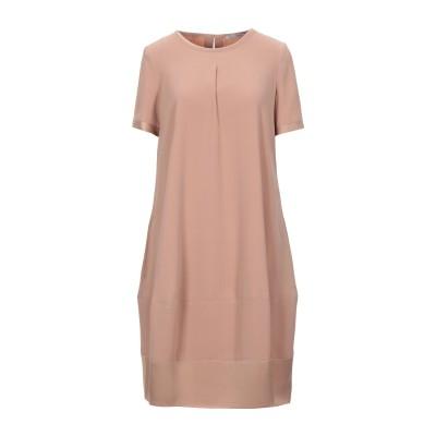 BIANCOGHIACCIO ミニワンピース&ドレス サンド 40 ポリエステル 100% ミニワンピース&ドレス
