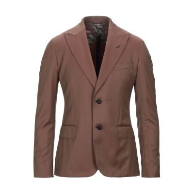 REVERSE テーラードジャケット ココア 48 バージンウール 100% テーラードジャケット