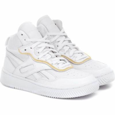 リーボック Reebok x Victoria Beckham レディース スニーカー シューズ・靴 dual court 2 leather sneakers White/White/White