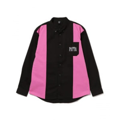 PATTA / Panelled Relaxed Button Down Shirt