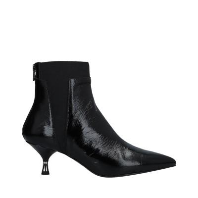 GIAMPAOLO VIOZZI ショートブーツ ブラック 36 革 ショートブーツ