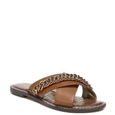 サムエデルマン レディース サンダル シューズ Gabrie Chain Detail Leather Sandals