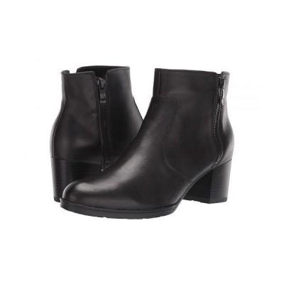 ara アラ レディース 女性用 シューズ 靴 ブーツ アンクルブーツ ショート Fia - Black Nappalux