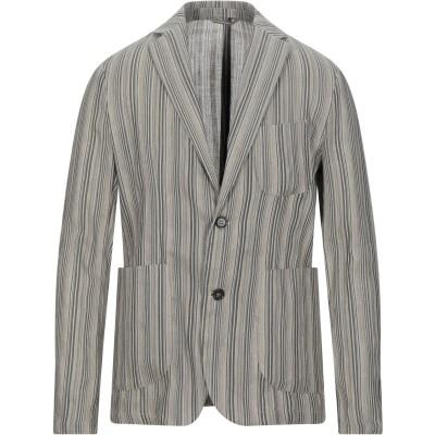 MARCIANO テーラードジャケット ライトグレー 46 リネン 100% テーラードジャケット