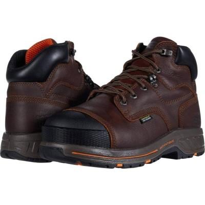 ティンバーランド Timberland PRO メンズ ブーツ シューズ・靴 6' Helix HD Composite Safety Toe Internal Met Guard Brown