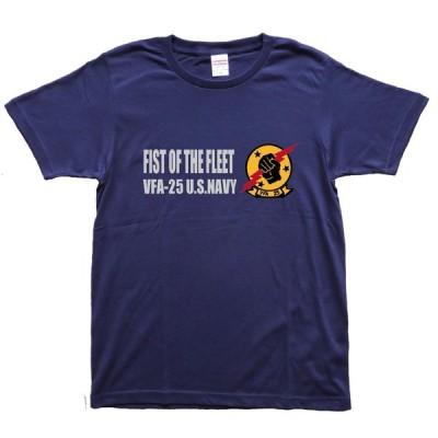 ミリタリー Tシャツ アメリカ海軍 トップガン FIST OF THE FLEET アイスマン U.S.NAVY