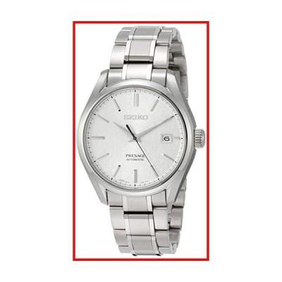 [セイコーウォッチ] 腕時計 プレザージュ 和紙模様シルバー文字盤 メカニカル サファイアガラス チタン