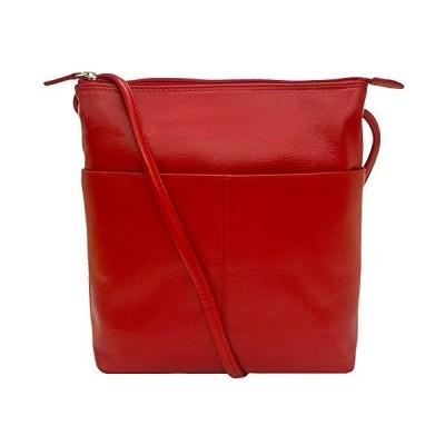 ILI アメリカ 日本未発売 4345858991 ili New York 6661 Leather Mini Sac With RFID Lining Blocking (Red)