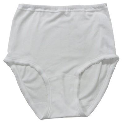 綿100%(フライス編み)/婦人スタンダードショーツ (レディスショーツ・女性ショーツ・レディス下着・女性下着・婦人下着)【2枚組】