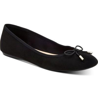 アルファニ Alfani レディース スリッポン・フラット シューズ・靴 Step 'N Flex Aleaa Ballet Flats's Black Micro