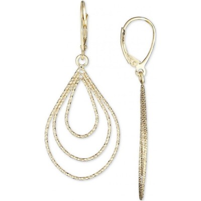 イタリアン ゴールド Italian Gold レディース イヤリング・ピアス ジュエリー・アクセサリー Teardrop Earrings in 14k Gold Yellow Gold