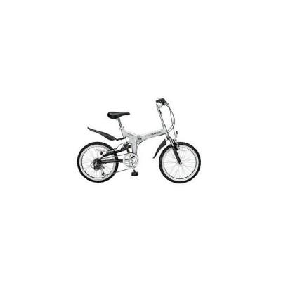 マイパラス MY PALLAS 折り畳み自転車 20インチ 6段変速 M-207-SV シルバー