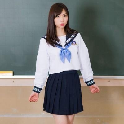 セーラー服 瀬戸海学園中央学舎 Mサイズ 制服セット コスプレ 衣装