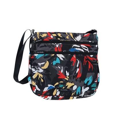 Vera Bradley Triple Zip Hipster Splash Floral Crossbody Bag【並行輸入品】