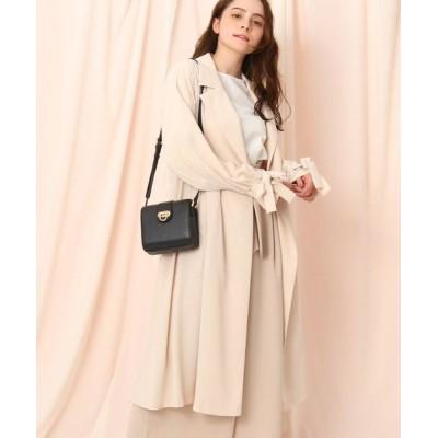 Couture Brooch/クチュールブローチ キャンディースリーブコート ベビーピンク(071) 38(M)