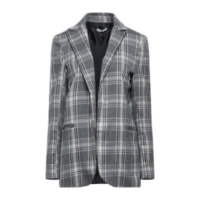 OPTIONS テーラードジャケット 鉛色 M レーヨン 78% / ナイロン 19% / ポリウレタン 3% テーラードジャケット