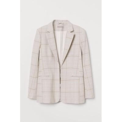 H&M - フィットジャケット - グレー