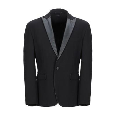 I'M BRIAN テーラードジャケット ブラック 46 レーヨン 68% / ナイロン 27% / アセテート 5% テーラードジャケット