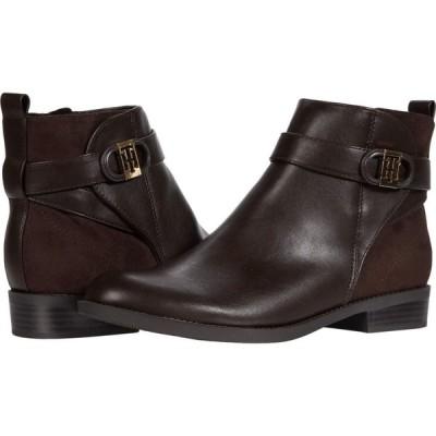 トミー ヒルフィガー Tommy Hilfiger レディース ブーツ シューズ・靴 Isabelo Dark Brown