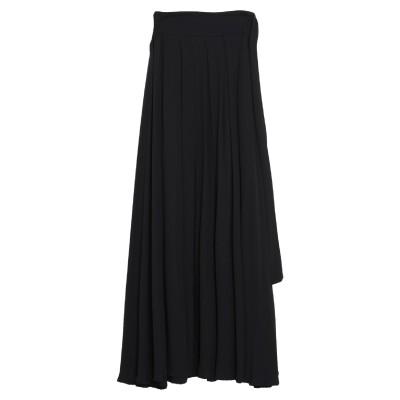 F.IT ロングスカート ブラック 38 ポリエステル 100% ロングスカート