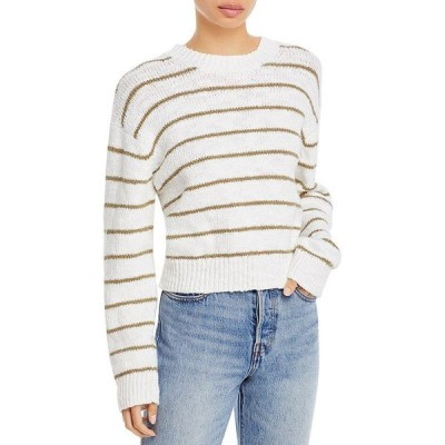 ヴィンス レディース ニット・セーター アウター Textured Striped Sweater