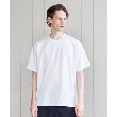 tシャツ Tシャツ <H>COTTON TUBE CREW NECK T-SHIRT/Tシャツ