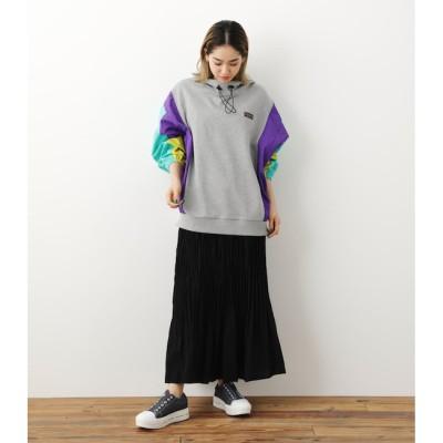 【ロデオクラウンズ/RODEO CROWNS】 ランダムプリーツスカート