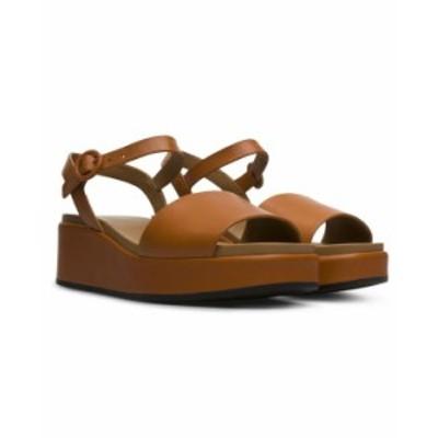 カンペール レディース サンダル シューズ Women's Bolso Sandals Medium Brown