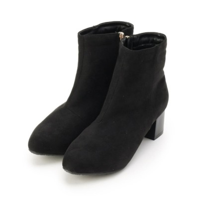 SHOO・LA・RUE / サイドジップチャンキーヒールショートブーツ WOMEN シューズ > ブーツ