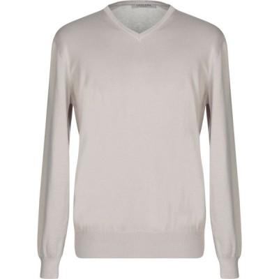 ラ フィレリア LA FILERIA メンズ ニット・セーター トップス sweater Beige