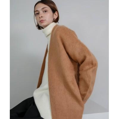chuclla / 【chuclla】【2020/AW先行予約】wool mohair gown cardigan sb-3 chw1347 WOMEN トップス > カーディガン