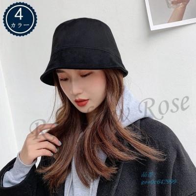 帽子 レディース バケットハット ボアハット つば広帽子 ハット かわいい もこもこ 韓国風 学生 贈り物 暖かい 秋 彼女 ギフト 冬 オシャレ おしゃれ