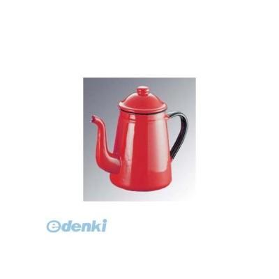 [4428410] キリン印 ホーロー コーヒーポット #11 赤 1.0L 4976045070024