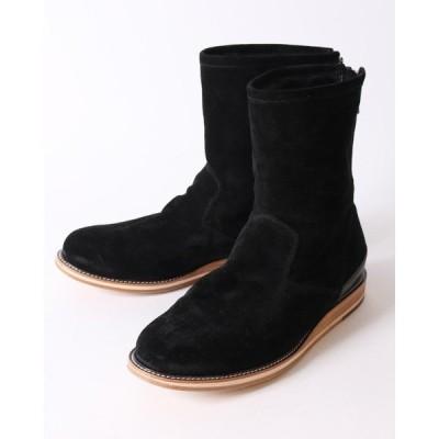 ブーツ zip mouton