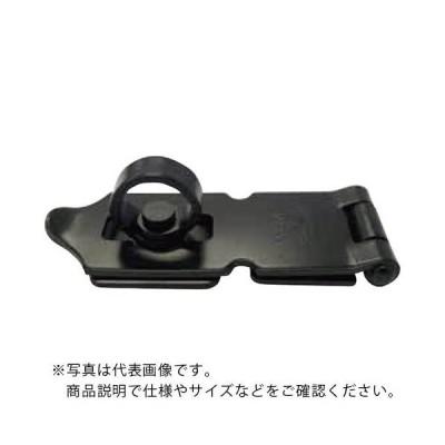 NewHikari 鉄ストロング掛金 艶消黒 25mm (SH-LK25BK) 清水(株)