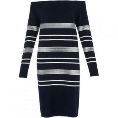ホイッスルズ Whistles レディース ワンピース ワンピース・ドレス Rae Bardot Sweater Dress Navy