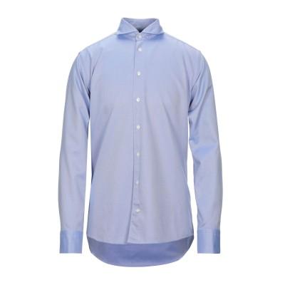 ETON シャツ ダークブルー 39 コットン 100% シャツ