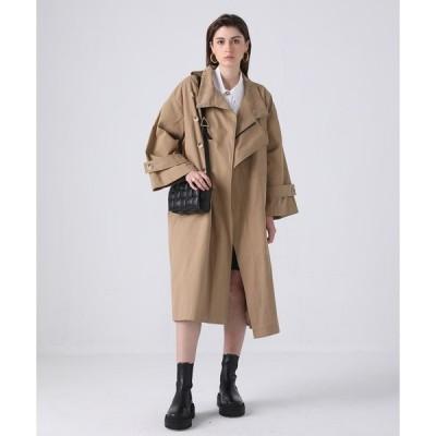 コート トレンチコート 【chuclla】【2021/SS】Corduroy stand‐up collar coat cb-3 chw1409