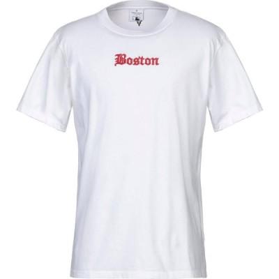マルセロバーロン MARCELO BURLON メンズ Tシャツ トップス t-shirt White