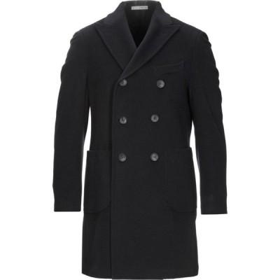0909ファットインイタリー 0909 FATTO IN ITALIA メンズ コート アウター Coat Dark blue