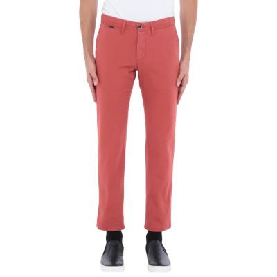 ZILTON パンツ 赤茶色 29W-36L コットン 98% / ポリウレタン 2% パンツ