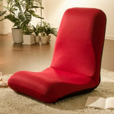 日本製 座椅子 和座椅子L 和楽チェアL コンパクト リクライニング 背筋 イス シンプル かわいい おしゃれ 和室 (代引不可)【送料無料】