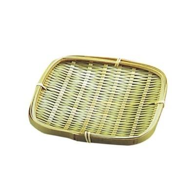竹 青角 ツマミ皿 155×155 21-035